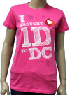 ONE DIRECTION (I BROUGHT 1D) Girls Tee