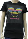 DEADMOU5 (LITE BRIGHT LOGO) Girls Tee