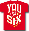 YOU ME AT SIX (BLOCK LOGO)