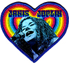 JANIS JOPLIN (HEART) Patch