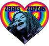 JANIS JOPLIN (HEART) Sticker