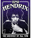 JIMI HENDRIX (FRAMED) Sticker