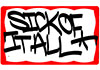 SICK OF IT ALL (TAG) Sticker