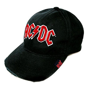 ACDC (RED LOGO) Cap