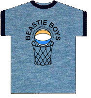BEASTIE BOYS (BASKETBALL HOOP)