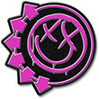 BLINK 182 (PINK SIX ARROWS SMILEY) Patch