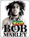 BOB MARLEY (SEPIA LOGO) Sticker