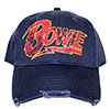 DAVID BOWIE (FLASH LOGO) Cap