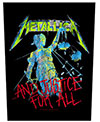 METALLICA (AND JUSTICE) Back Patch
