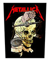 METALLICA (HARVESTER OF SORROW) Back Patch