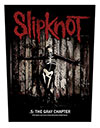 SLIPKNOT (THE GRAY CHAPTER) Back Patch