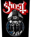 GHOST (PAPA WARRIORS) Back Patch
