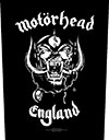 MOTORHEAD (ENGLAND) Back Patch