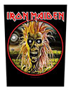 IRON MAIDEN (EDDIE) Back Patch