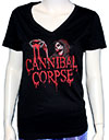 CANNIBAL CORPSE (BLOOD GHOUL) Girls Tee
