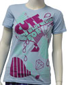 CUTE IS WHAT WE AIM FOR (RAINING DIAMONDS) Girls Tee