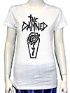 DAMNED (ROSE COFFIN) Girls Tee