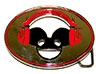 DEADMAU5 (PINK HEADPHONES) Belt Buckle