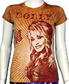 DOLLY PARTON (SUNBURST) Girls Jr. Tee