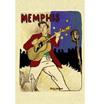 ELVIS PRESLEY (MEMPHIS) Postcard