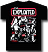 EXPLOITED (COLLAGE TEE)