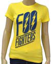 FOO FIGHTERS (LOGO) Girls Tee