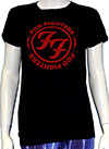 FOO FIGHTERS (RED BOLTS LOGO) Girls Tee
