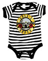 GUNS N ROSES (STRIPED BULLET LOGO) Romper