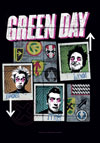 GREEN DAY (UNO, DOS, TRES) Flag