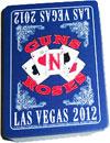 GUNS N ROSES (LAS VEGAS 2012) Playing Cards