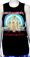 IRON MAIDEN POWERSLAVE (GIRLS MUSCLE TANK TOP)
