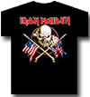IRON MAIDEN (CROSSED FLAGS)