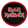IRON MAIDEN (STACKED LGO) Patch