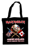 IRON MAIDEN (NORTH AMERICAN TOUR 2012) Tote Bag
