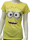 DESPICABLE ME (BIG FACE) Girls Tee