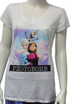 FROZEN (PHOTO BOMB) Girls Tee