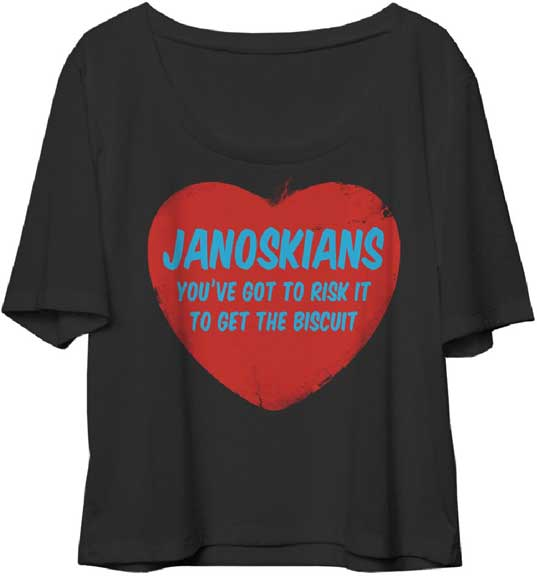 JANOSKIANS (GOT TO RISK IT) Girls Tee