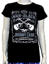JOHNNY CASH (MIB GUITAR) Girl's Tee