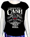 JOHNNY CASH (ROCK AND ROLL) Girl's Tee