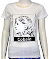 KURT COBAIN (PROFILE) Girls Tee