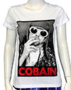 KURT COBAIN (BIG GLASSES) Girls Tee
