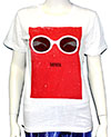 KURT COBAIN (RED BOX GLASSES) Girls Tee