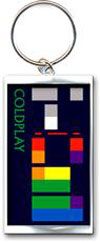 COLDPLAY (COLORS) Keychain