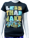 LESS THAN JAKE (RIOT) Girls Tee