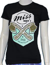 MISS MAY I (AXES) Girls Tee