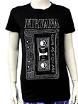 NIRVANA (CASSETTE) Girls Tee