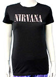 NIRVANA (DOLLS LOGO) Girls Tee