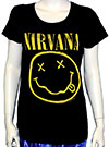 NIRVANA (FADED FACE) Girls Tee