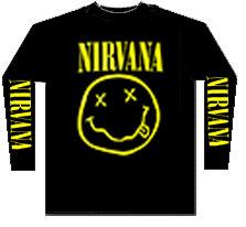 NIRVANA (YELLOW SMILE) junior long sleeves