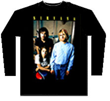 NIRVANA (BAND PHOTO) long sleeves